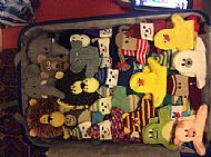 mothers' union puppets for lighthouse school, gaza