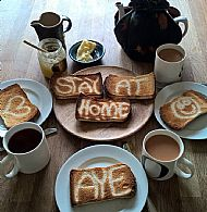 Stay at Home Toast Breakfast