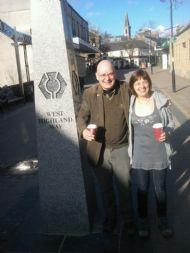 Stephen & Phyl at Milingavie