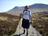 Stephen arrives back in his beloved Lochaber.