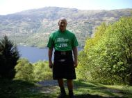 Jim on West Highland Way