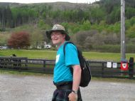 Stephen at Gairlochy