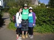 Stephen with Sandie & Eilidh