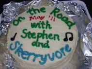 Stephen's Footsteps Challenge/ Skerryvore Cake!