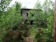 hen house at the rustic eco cafe