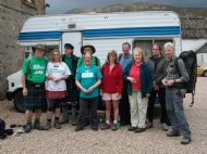 Day8 All about to set off from south laggan.