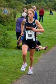Heather Halliday - 2nd Lady in SCA Prudhoe Miners 10k Race