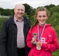 Spohie Wright - 3rd Girl in Junior Race