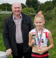 Tegan Hewitt - 2nd Girl in Junior Race