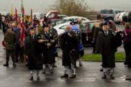 Muster on the Legion Car Park