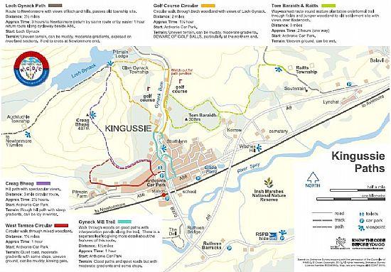 new path map