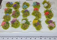 Floral Diorama Elements - Self Adhesive (TM20)