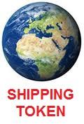 International AIRMAIL Shipping TOKEN