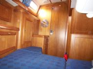 aft berth looking forward, port side