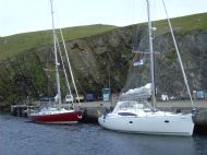 SY Red Ruth in Fair Isle