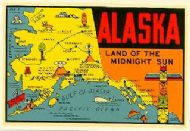 State Map Land of the Midnight Sun