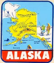 State Map Polar Bear and Eskimos