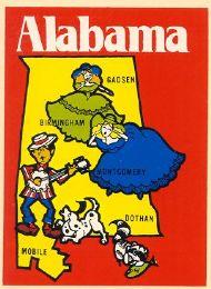 State Map Banjo player