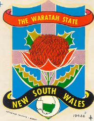 New South Wales The Waratah State