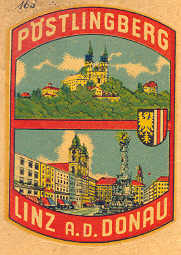 Linz a.d. Donau Pöstlingberg