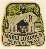 Maria Lourdes in Wienerwald