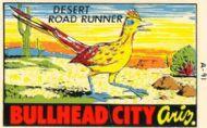 Bullhead City, with Desert Road Runner