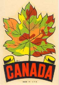 Maple Leaf, Fall Colours