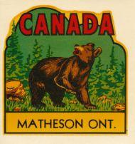 Matheson ON