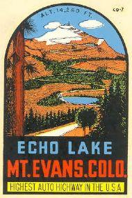 Echo Lake, Mount Evans
