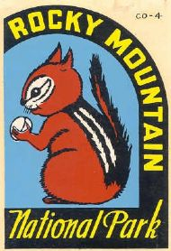Rocky Mountain NP, Squirrel