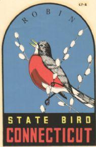 Robin, State Bird