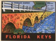 Florida Keys, Overseas Highway, orange