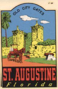 Saint Augustine, Old City Gates