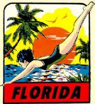 Florida, Girl Diver