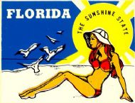 Florida, Sunshine State with Pinup