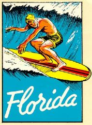 Florida, Surfer