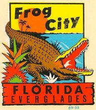 Frog City in the Everglades