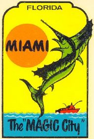 Miami, Magic City with Jumping Sailfish
