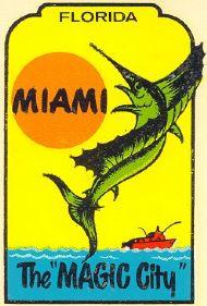 Miami, Magic City with Jumping Sailfish