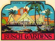 Tampa, Busch Gardens , Building
