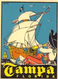 Tampa, Pirate Ship