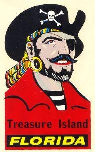 Treasure Island with Pirate