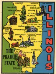State Map Prairie State