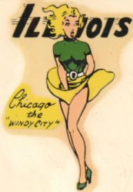 Chicago, the Windy City, Pinup