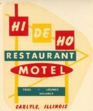 Carlyle Hi de Ho Restaurant Motel