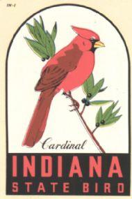 Cardinal, State Bird
