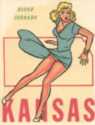 Blond Tornado Pin-up