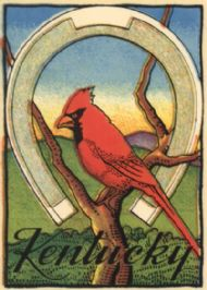 Cardinal and Horseshoe