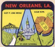 New Orleans, three sights