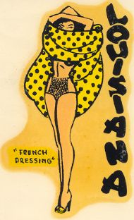 Pinup 'French Dressing'